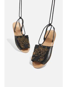 Halle Wrap Around Sandals by Topshop