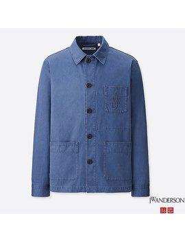 Men Jwa Work Jacket by Uniqlo