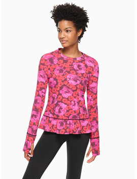 Electric Rose Pullover by Kate Spade