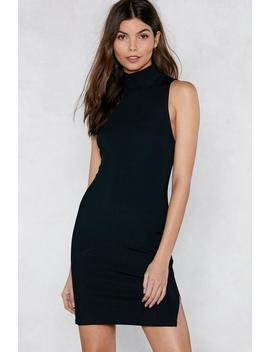 Good Times On Rib Peat Mini Dress by Nasty Gal