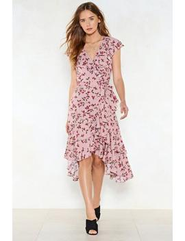 Leaf It Be Floral Dress by Nasty Gal