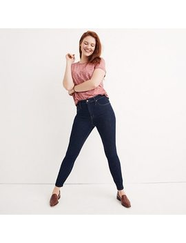 Taller Curvy High Rise Skinny Jeans In Lucille Wash by Madewell