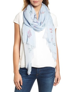 Pressed Flowers Scarf by Rebecca Minkoff