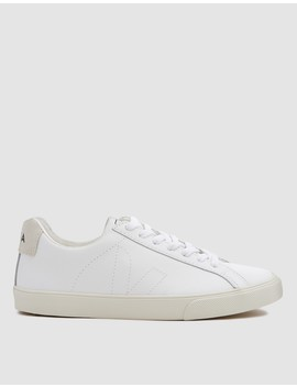 Esplar Leather Sneaker In Extra White by Need Supply Co.