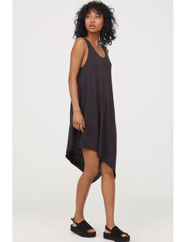 Asymmetric Jersey Dress by H&M
