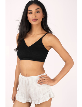 Hold Me Tight Grey Cami Top by Tobi
