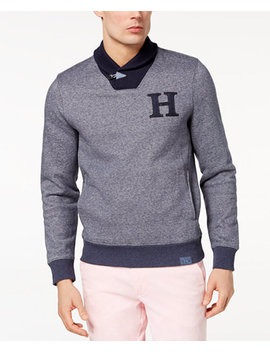 Men's Forest Grove Shawl Collar Sweater, Created For Macy's by Tommy Hilfiger