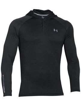 Men's Tech Popover Henley Hoodie by Under Armour