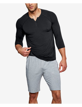 Men's Athletic Recovery Henley Top by Under Armour