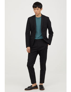 Slim Fit Cotton Chinos by H&M