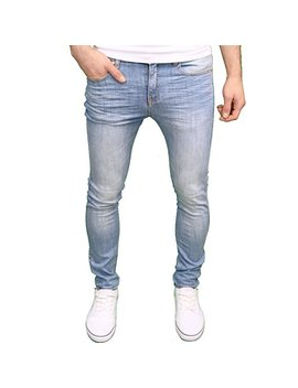 526 Jeanswear Mens Designer Branded Skinny Fit Jeans, Available In 4 Colours by 526 Jeanswear