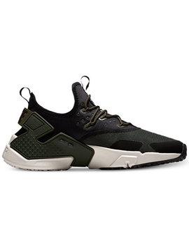Men's Air Huarache Run Drift Casual Sneakers From Finish Line by Nike