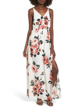 Floral Print Maxi Dress by Bp.