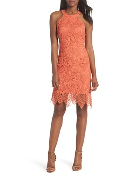 Isla Lace Halter Dress by Kobi Halperin