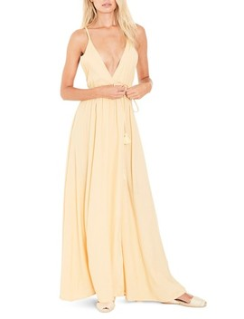 Santa Rose Strappy Maxi Dress by Faithfull The Brand