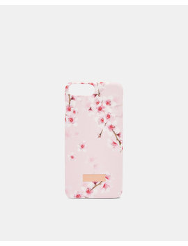 I Phone 6/6s/7/8 Plus Hülle Mit Soft Blossom Print by Ted Baker