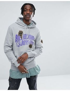 Billionaire Boys Club Hoodie With Damaged Logo by Billionaire Boys Club