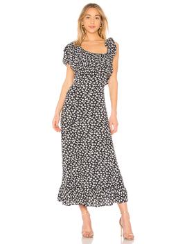 Roseburg Crepe Dress by Ganni