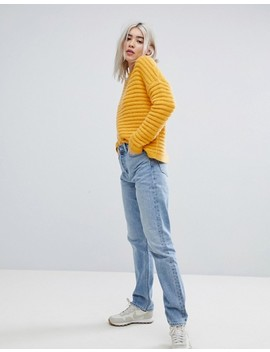 Weekday Line Vintage Look Straight Leg Jean by Weekday