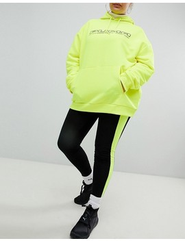 Puma Exclusive To Asos Plus Legging With Neon Side Panel by Puma