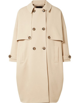 Stretch Twill Trench Coat by Hatch
