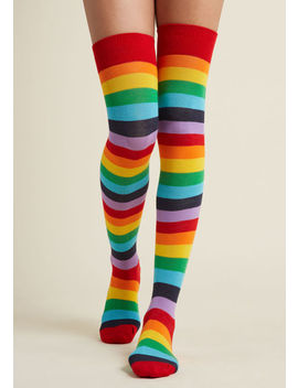 Crave Color Thigh Highs Crave Color Thigh Highs by Modcloth