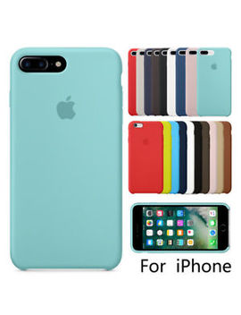 Luxury Original Silicone Case For Apple I Phone X 8 7 6s 6 Plus Genuine Oem Cover by Unbranded/Generic