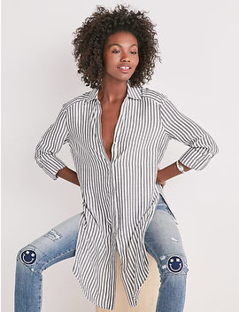 Stripe Tunic by Lucky Brand