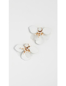 Vibrant Life Leather Statement Studs by Kate Spade New York