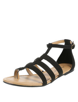 Women's Wayne Strappy Flat Sandal by Learn About The Brand American Eagle