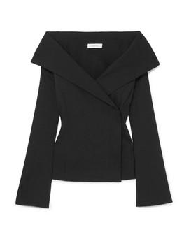 Tora Off The Shoulder Linen Blend Top by Beaufille