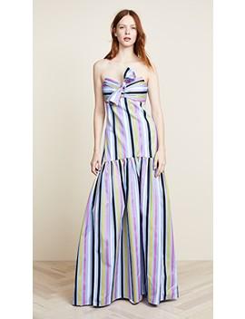 Strapless Maxi Dress by Caroline Constas