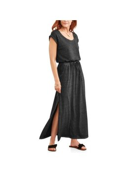 Time And Tru Women's Burnout Maxi Dress by Time And Tru