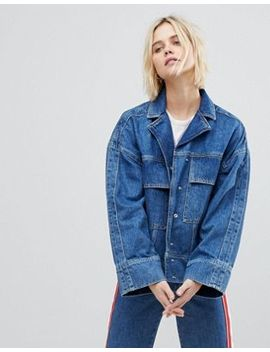 Whistles Limited Patch Pocket Denim Jacket by Whistles