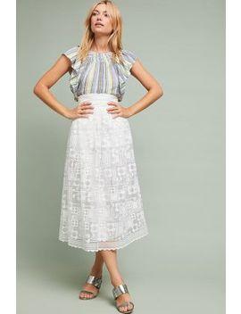 Alessandra Lace Skirt by Orla Kiely