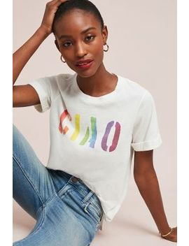 Sol Angeles Rainbow Ciao Graphic Tee by Sol Angeles