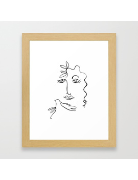 Framed Art Print by Veronicascanvas