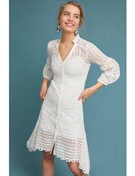 Nanette Lepore Newport Eyelet Midi Dress by Nanette Lepore