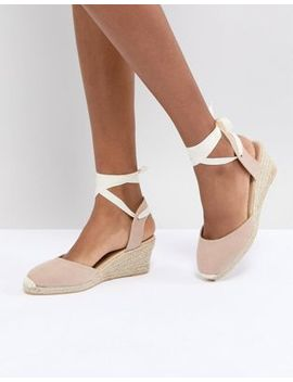 London Rebel Espadrille Wedge Shoe by Shoes