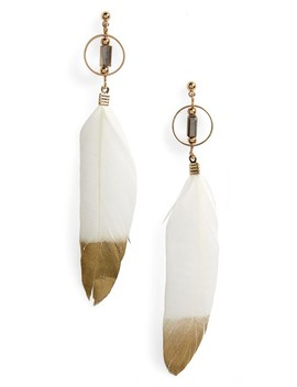 Dipped Feather Earrings by Bp.