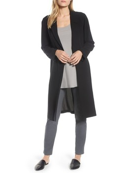 Long Silk Jacket by Eileen Fisher