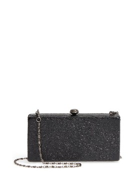 Clio Glitter Box Clutch by Sole Society