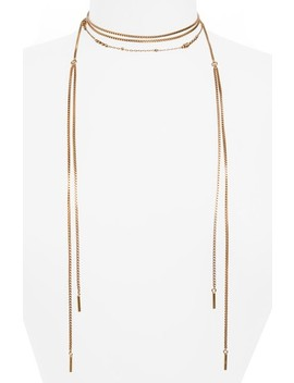 Chain Wrap Necklace by Madewell