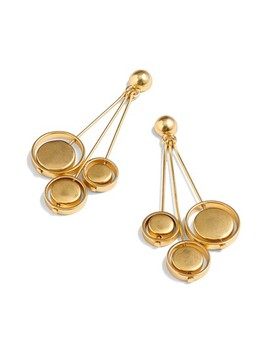J.Crew Orb Drop Earrings by J. Crew