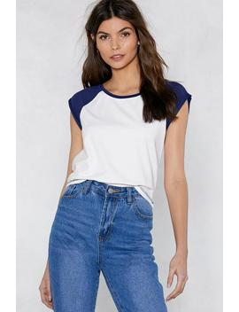 Sleeve Me Be Raglan Top by Nasty Gal