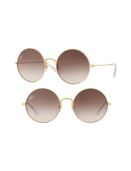 3592 55mm Gradient Round Sunglasses by Ray Ban