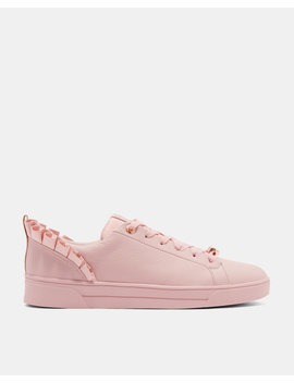 Ruffle Detail Trainers by Ted Baker