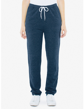 Unisex Tri Blend Terry Sweatpant by American Apparel