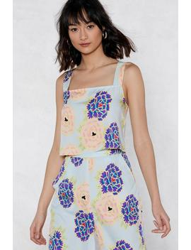 The Flower Of Love Floral Cami Top by Nasty Gal