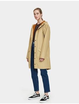 Long Rain Jacket In Desert by Need Supply Co.